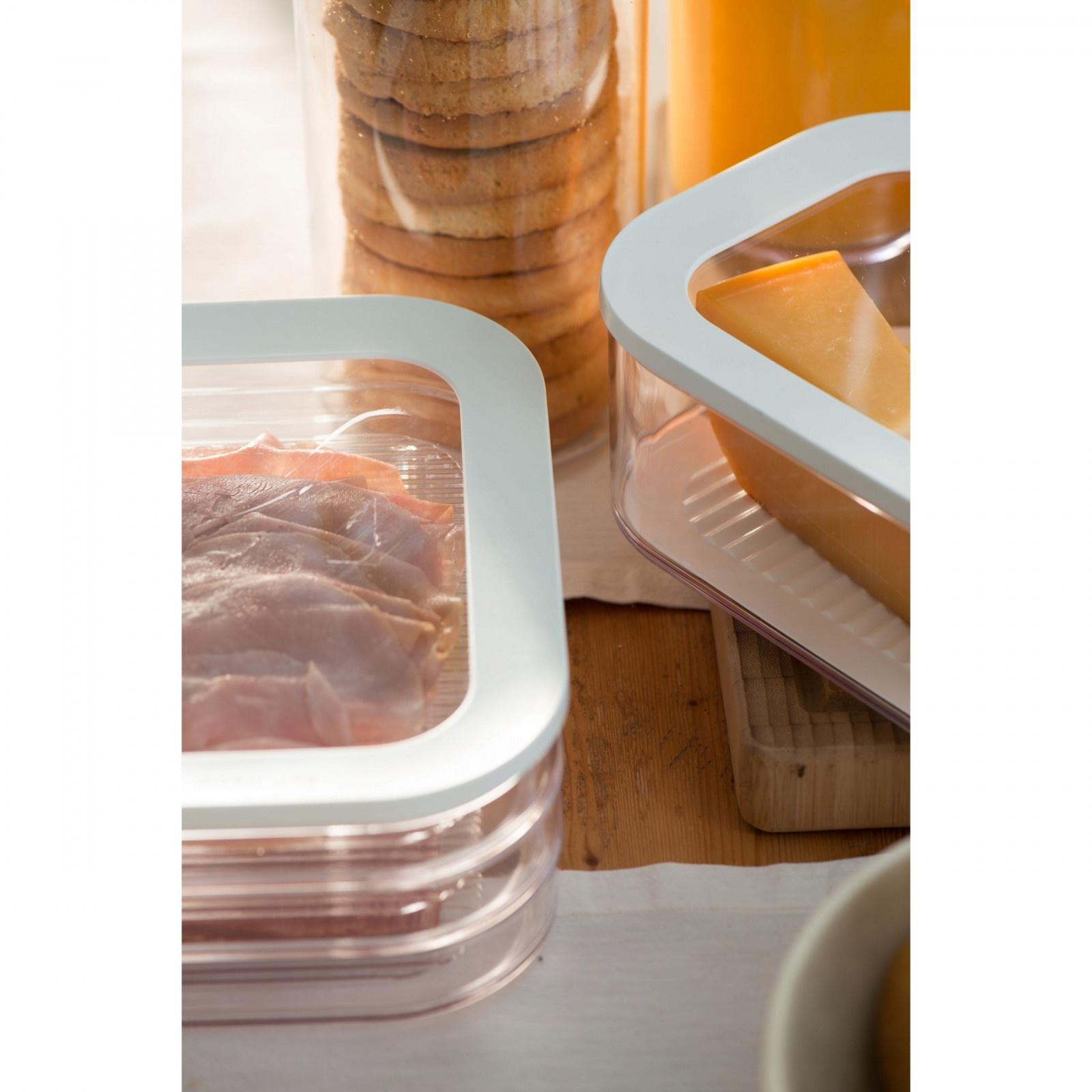 nádoba na potraviny mäso zeleninu 3 poschodia 16x8x22cm megamix.sk