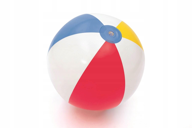 Nafukovacia plážová lopta BESTWAY s prúžkami 51 cm megamix.sk