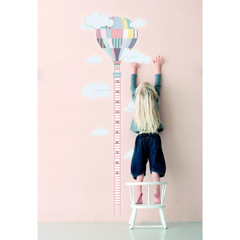 Nálepka na stenu na meranie výšky pre deti megamix.sk