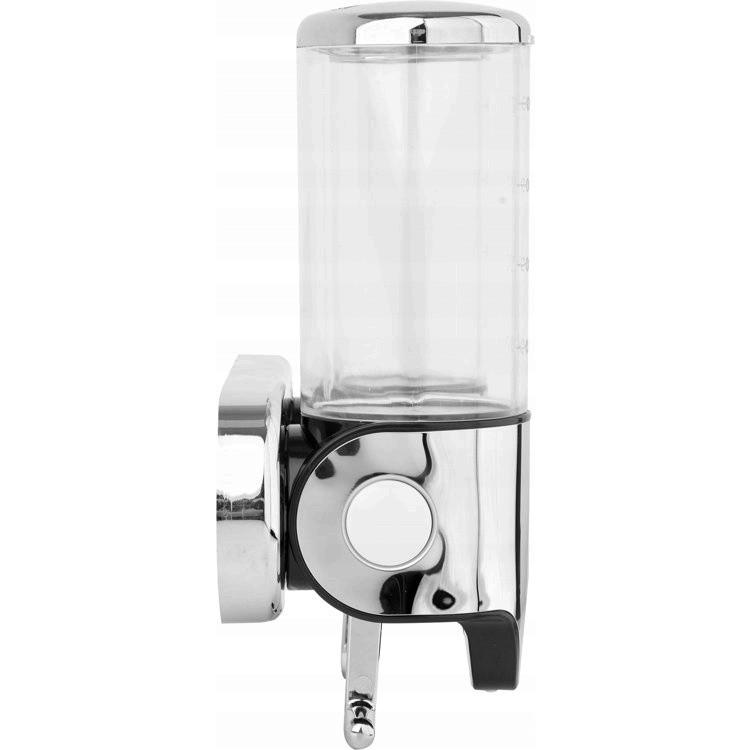 nástenný dávkovač mydla 2x500ml chróm megamix.sk