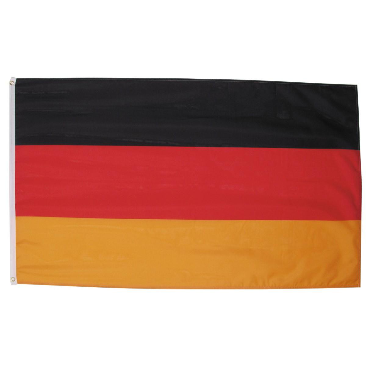 nemecká vlajka Deutschland 150x90cm obojstranná polyester megamix.sk