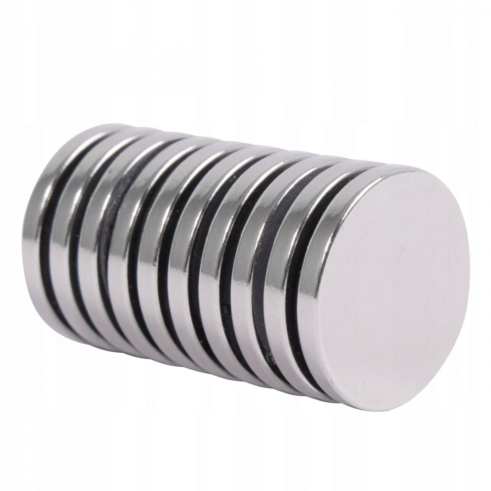 Neodymiový magnet 10ks 20x3mm N45 megamix.sk