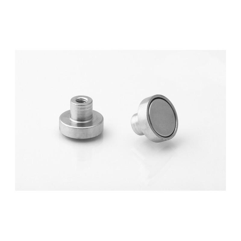 neodymový magnetický úchyt UM 16x4,5xM4 vnútorný x 11,5 megamix.sk