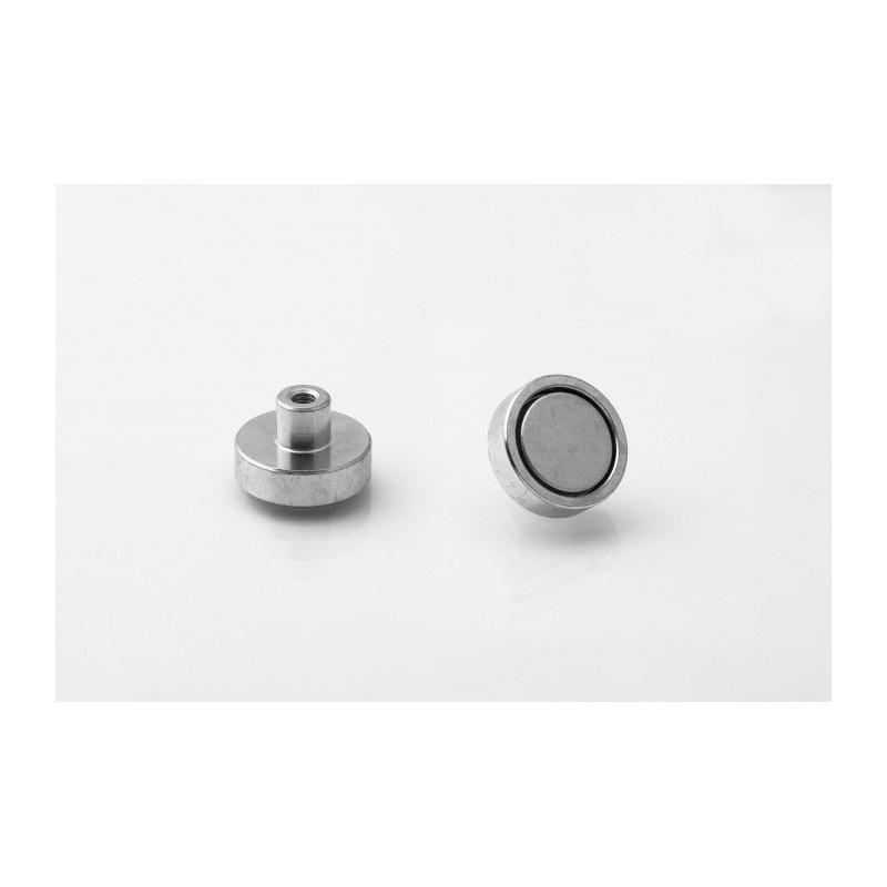 neodymový magnetický úchyt UM 20x6xM4 vnútorný x 13 megamix.sk