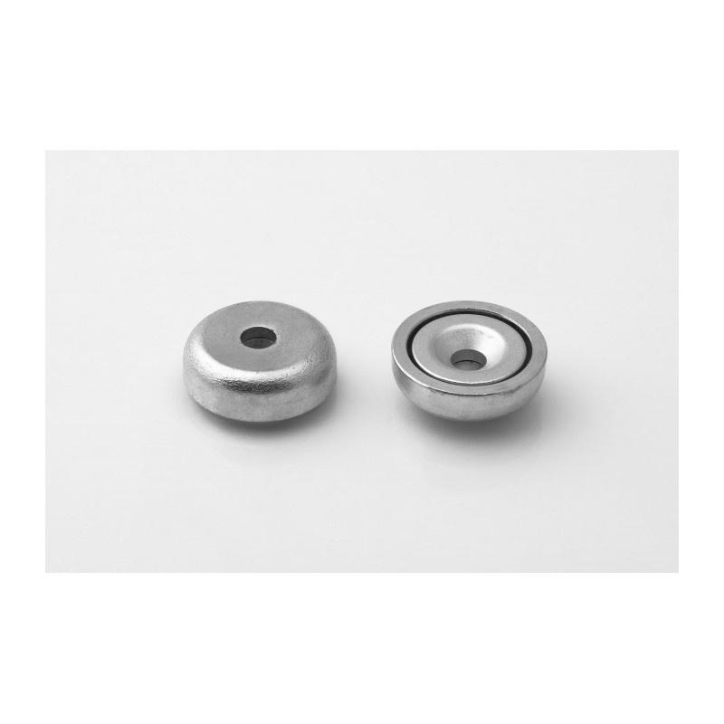 neodymový magnetický úchyt UM 20x8/3,1x4,5-N-Kužeľ megamix.sk