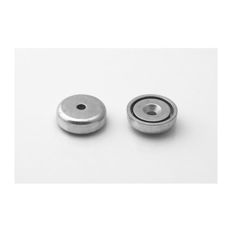 neodymový magnetický úchyt UM 25x11/6x7-N-Kužeľ megamix.sk