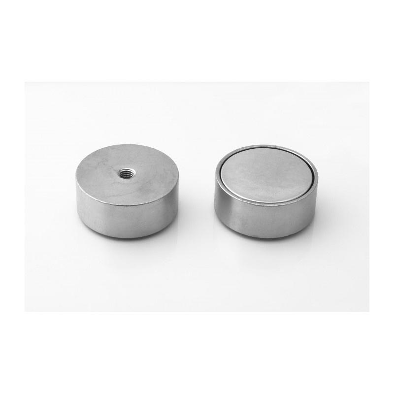 neodymový magnetický úchyt UM 50x20xM8 vnútorný megamix.sk