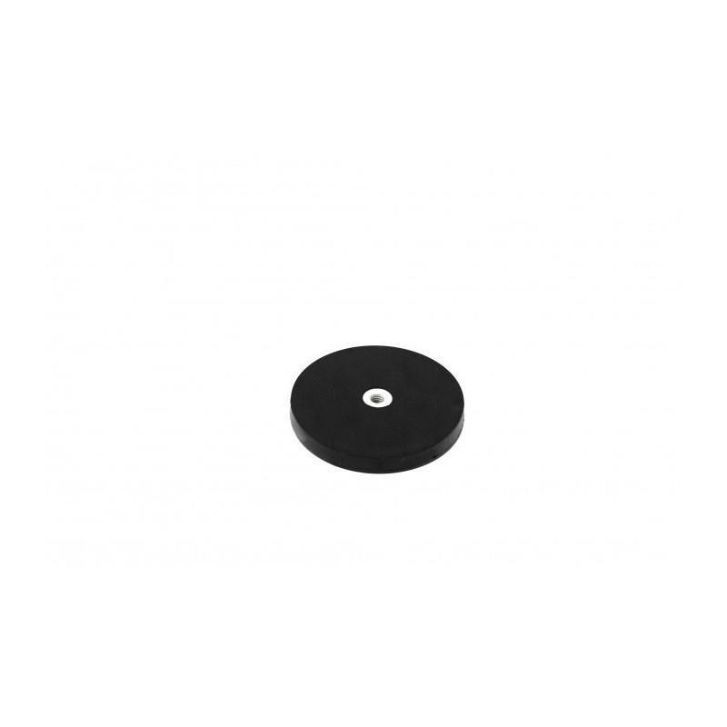 neodymový magnetický úchyt v gumovom puzdre UM 31x6xM4 vnútorný megamix.sk