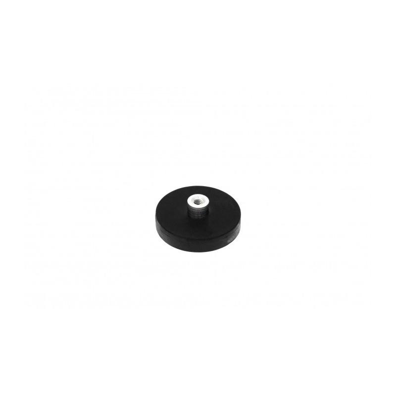 neodymový magnetický úchyt v gumovom puzdre UM 31x6xM4 vnútorný x 11,5 megamix.sk