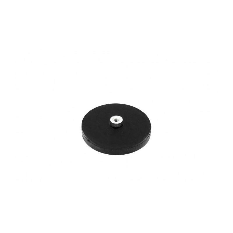 neodymový magnetický úchyt v gumovom puzdre UM 43x6xM4 vnútorný x 11,5 megamix.sk