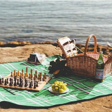 nepremokavá plážová podložka na piknik turistiku výlet megamix.sk