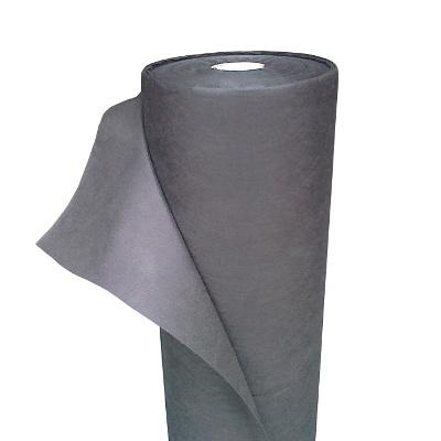 netkaná agrotextília 160cm 1mb 100g/m2 čierna hrubá pevná megamix.sk