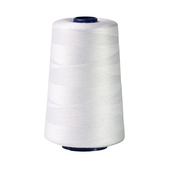 niť na šitie do stroja biela 118g 4115 polyester megamix.sk