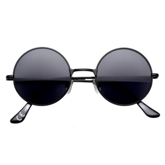 okuliare lenonky slnečné čierne megamix.sk