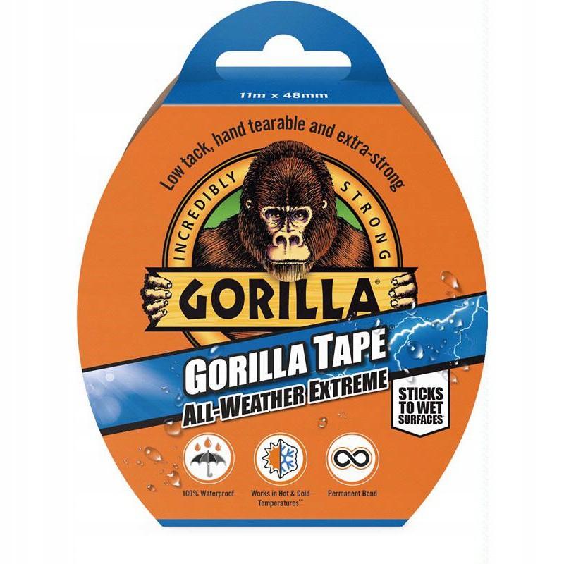 Opravná lepiaca páska vodeodolná 11m 48mm Gorilla megamix.sk