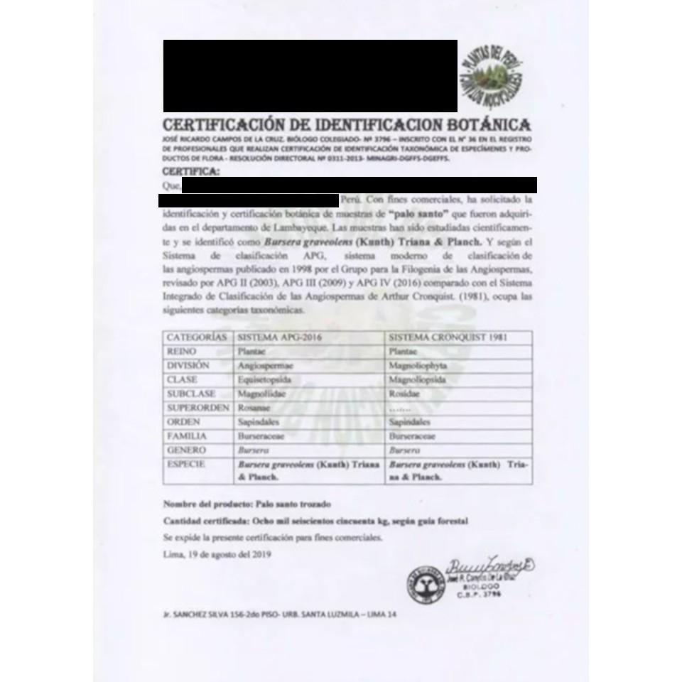 palo Santo 100g kadidlo aromatická vôňa megamix.sk