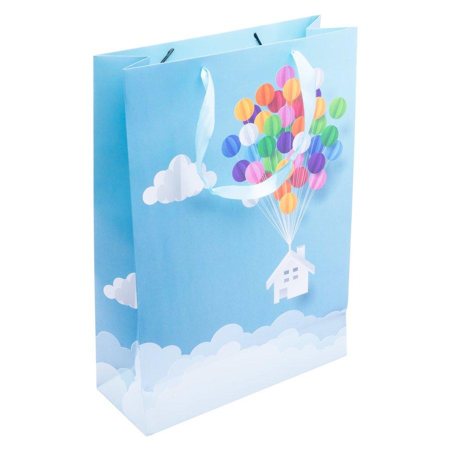 Papierová darčeková taška s detským motívom 31x12x44cm megamix.sk