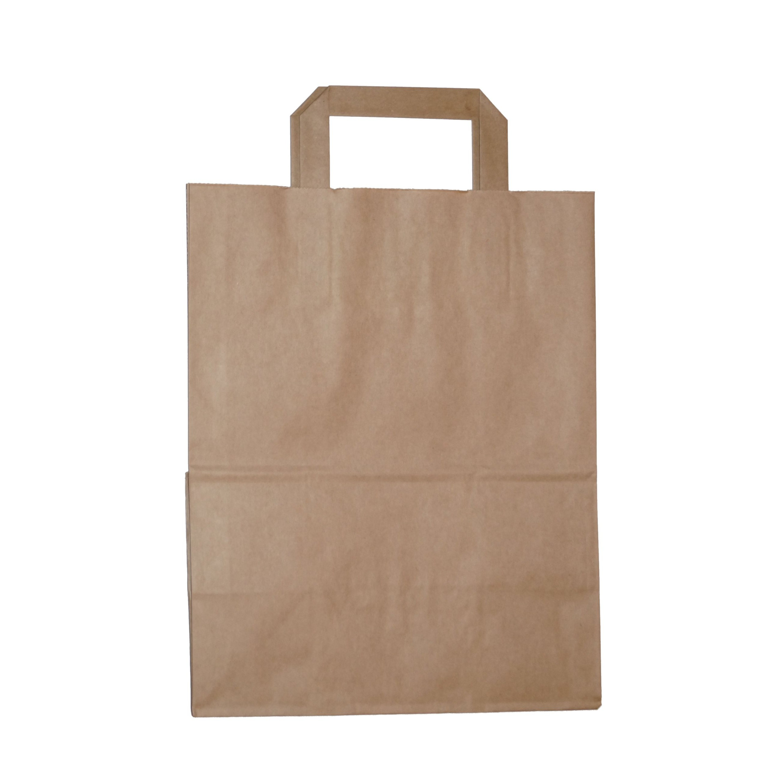 papierové tašky ECO  26x14x30cm 250ks hnedé nákupné megamix.sk