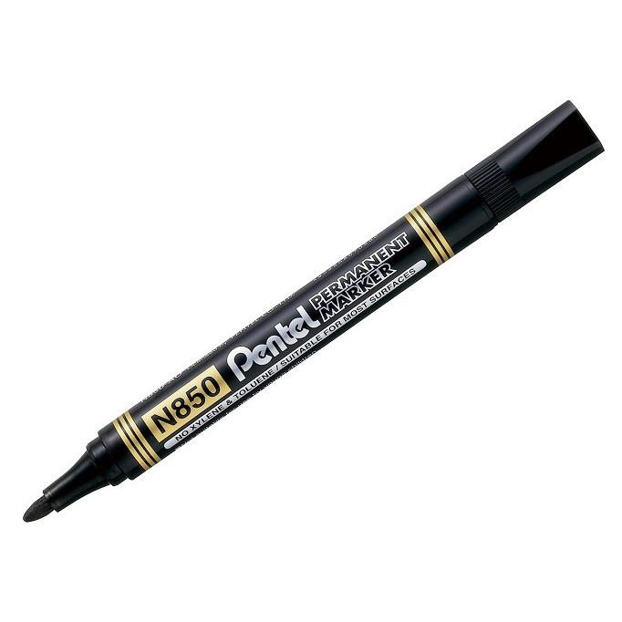 permanentný popisovač čierny 1,5mm Pentel N850 megamix.sk