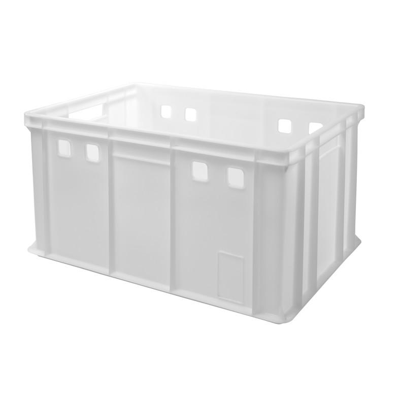 plastová nádoba krabica 600x400x320mm 62l biela megamix.sk