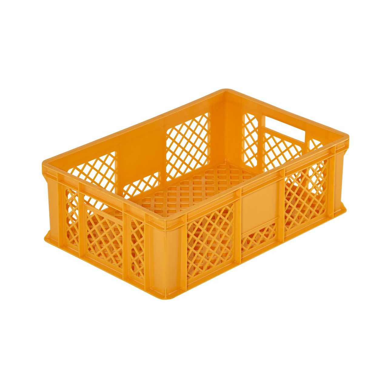 plastová nádoba prepravka na pečivo 600x400x200mm 35l žltá megamix.sk