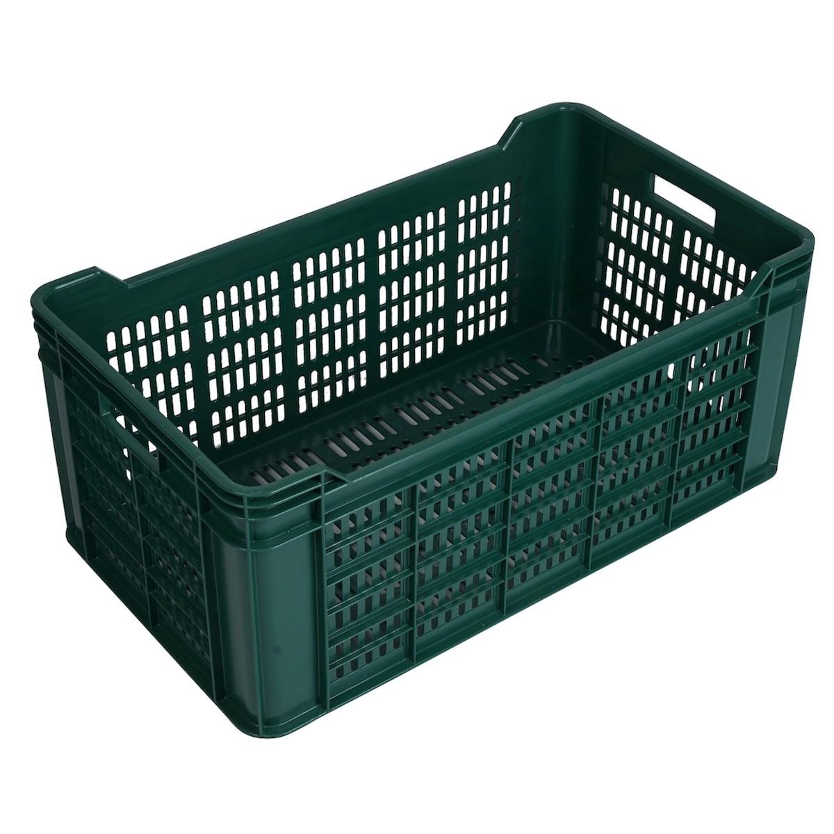 plastová prepravka na 340 vajíčka 700x400x300mm zelená megamix.sk