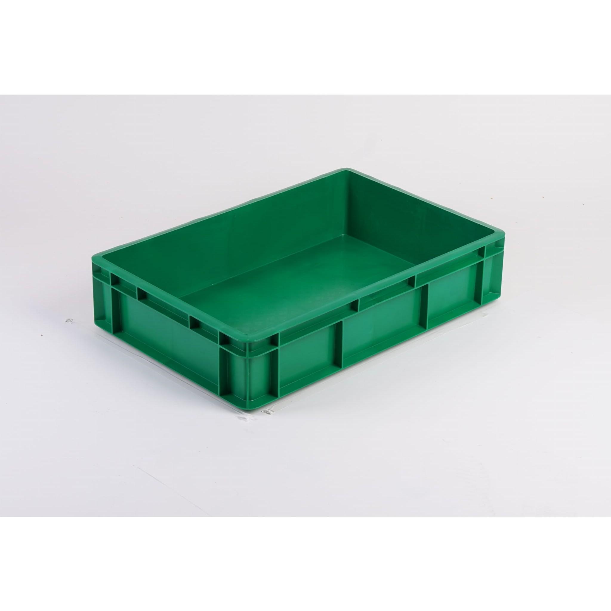 plastová vanička na potraviny 600x400x130mm 28l zelená megamix.sk
