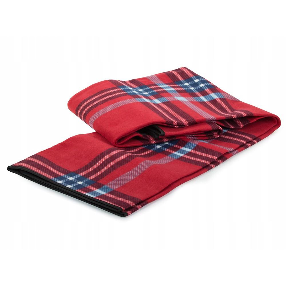 Plážová pikniková deka 150x200cm vodeodolná červená DL06 megamix.sk