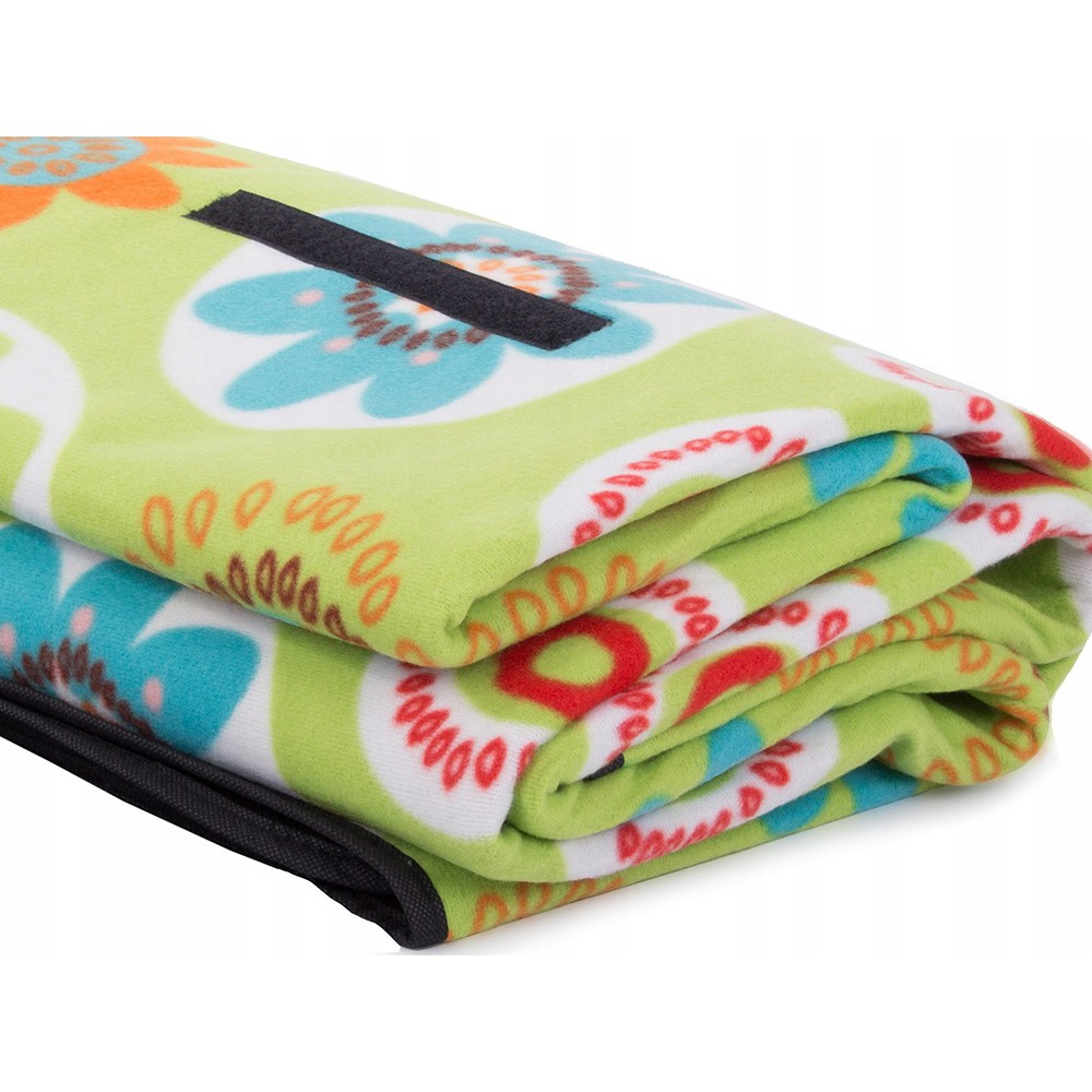 Plážová pikniková deka 150x200cm vodeodolná zelená DL10 megamix.sk
