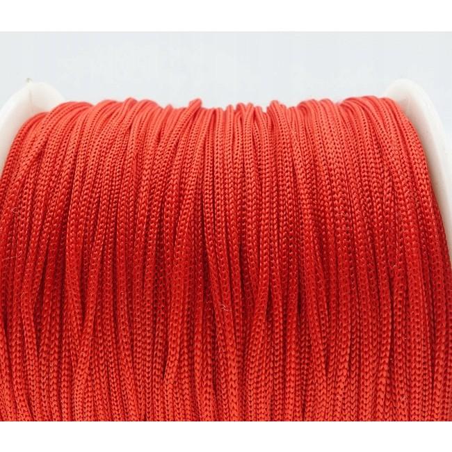pletená šnúra 40m 0.8mm červená polyester megamix.sk