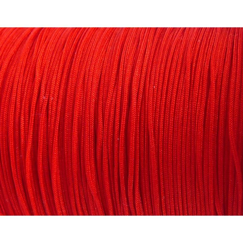 pletená šnúra 5m 0.4mm červený nylon megamix.sk