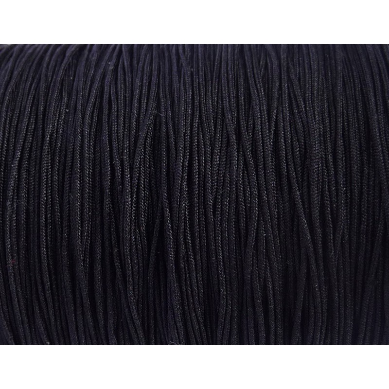 pletená šnúra 5m 0.4mm čierna nylon megamix.sk