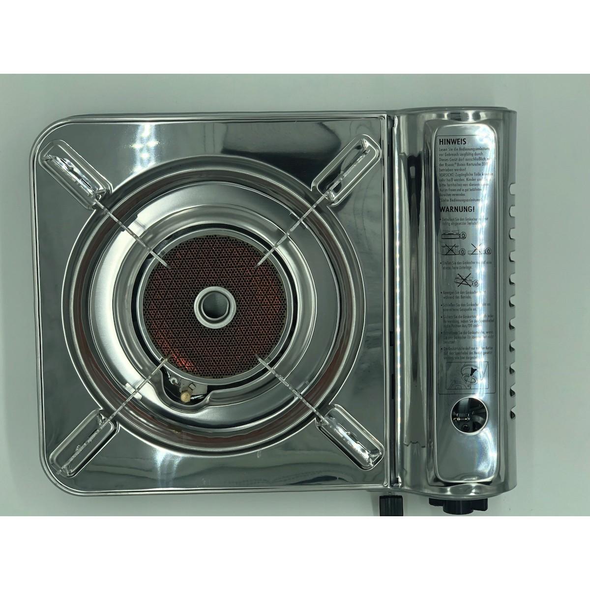 Plynový varič na kartuše s keramickým panelom megamix.sk