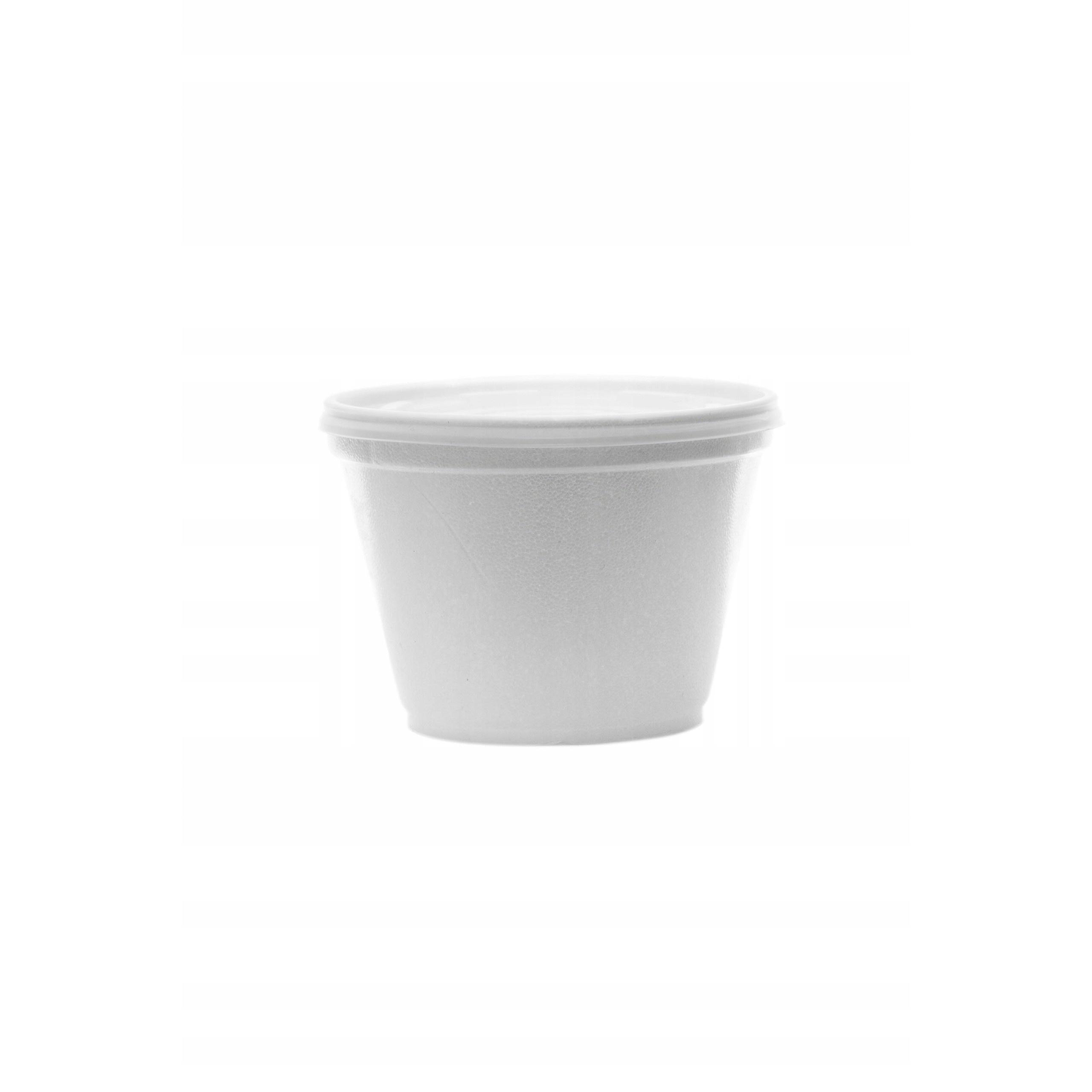 polystyrénový obal na polievku s viečkom 50ks 460ml megamix.sk