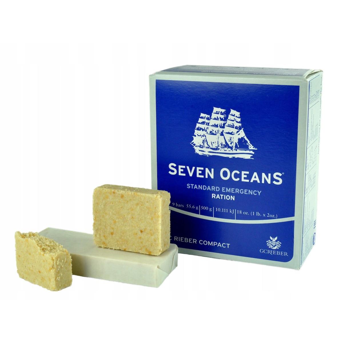 potravina na prežitie cesty Seven Oceans strava survival kalorická trvanlivá megamix.sk