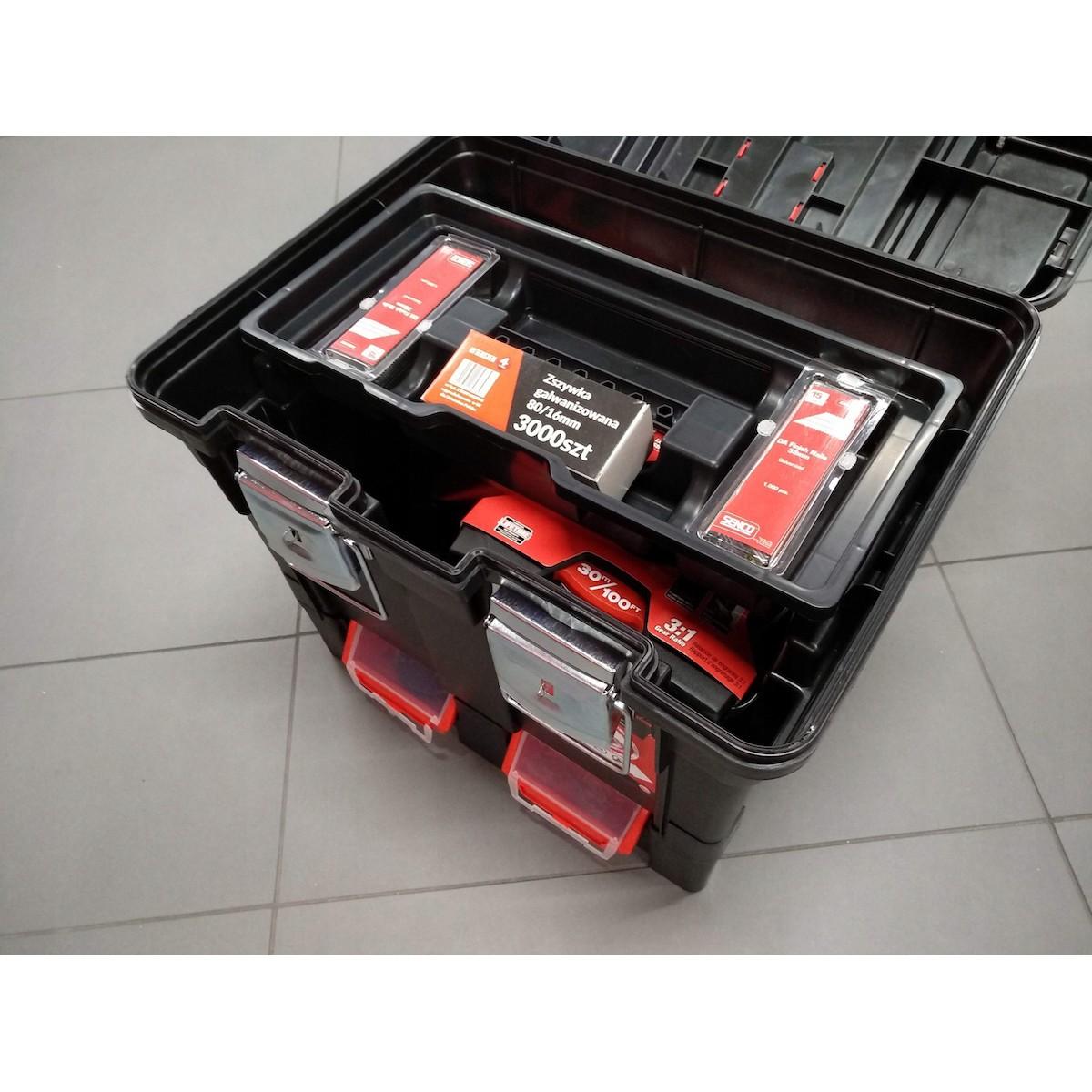 prenosný montážný kufrík na náradie na kolieskach megamix.sk