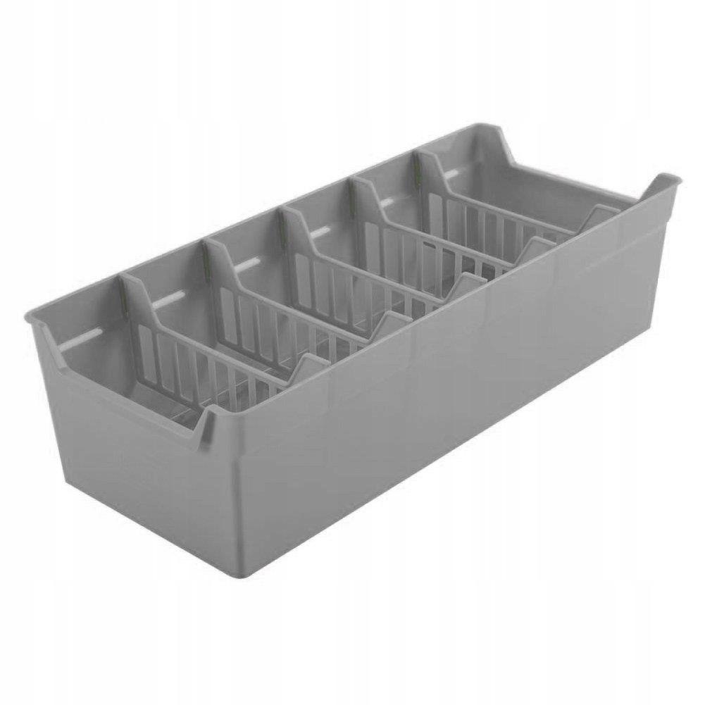 priehradky na korenie 30x13x8cm plast sivý organizér do kuchyne megamix.sk