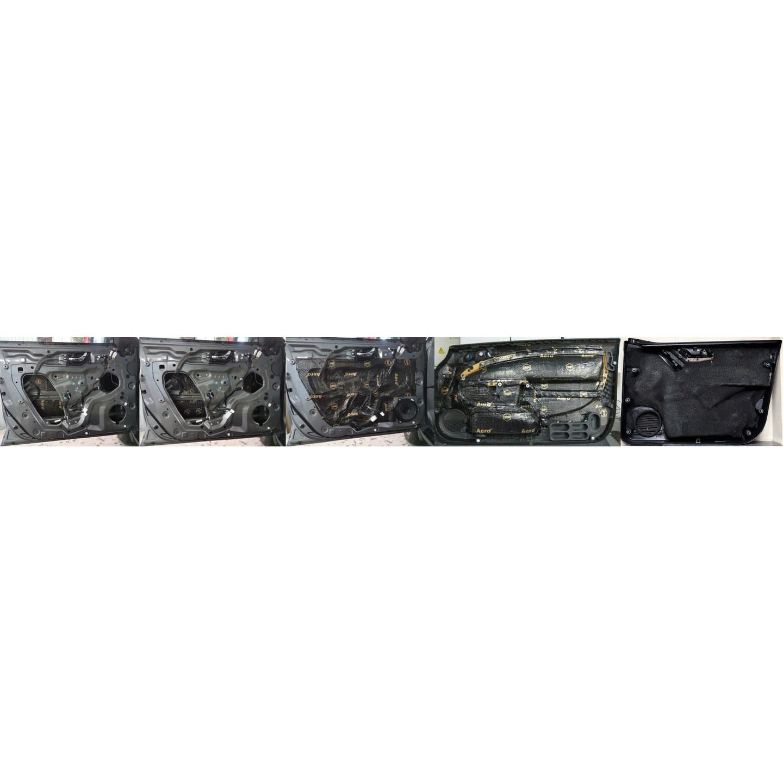 Pružná zvukotesná butylová rohož 1,8mm 10ks 75x50cm + valec ZADARMO megamix