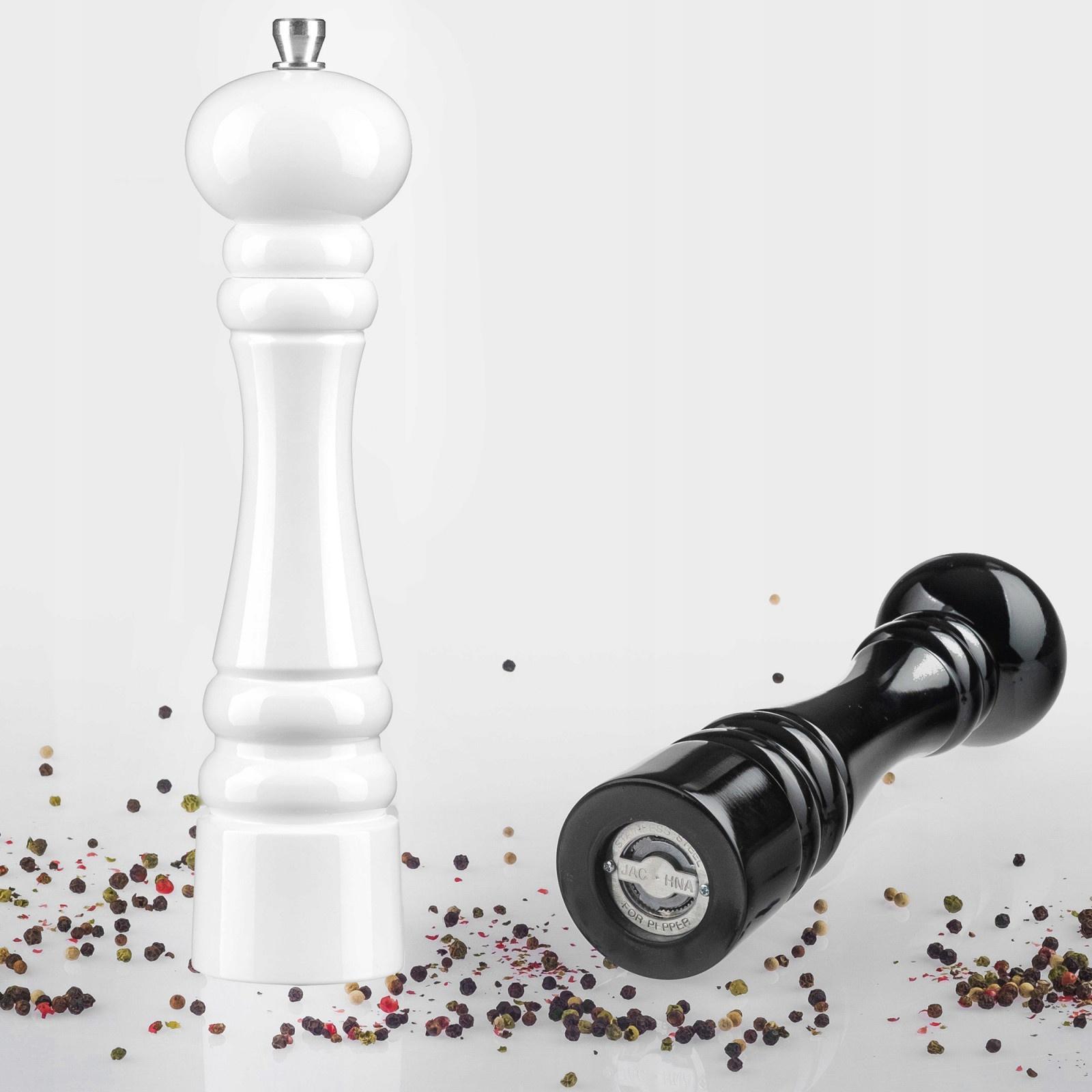 ručné mlynčeky na korenie soľ biely čierny megamix.sk