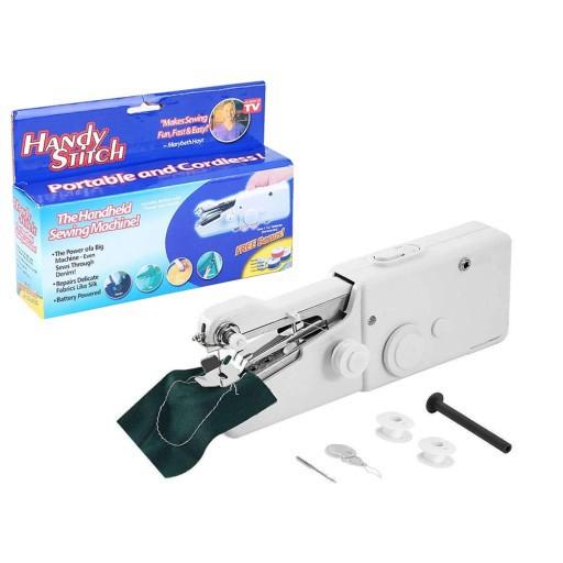 Ručný mini šijací stroj na batérie Handy Stitch megamix.sk