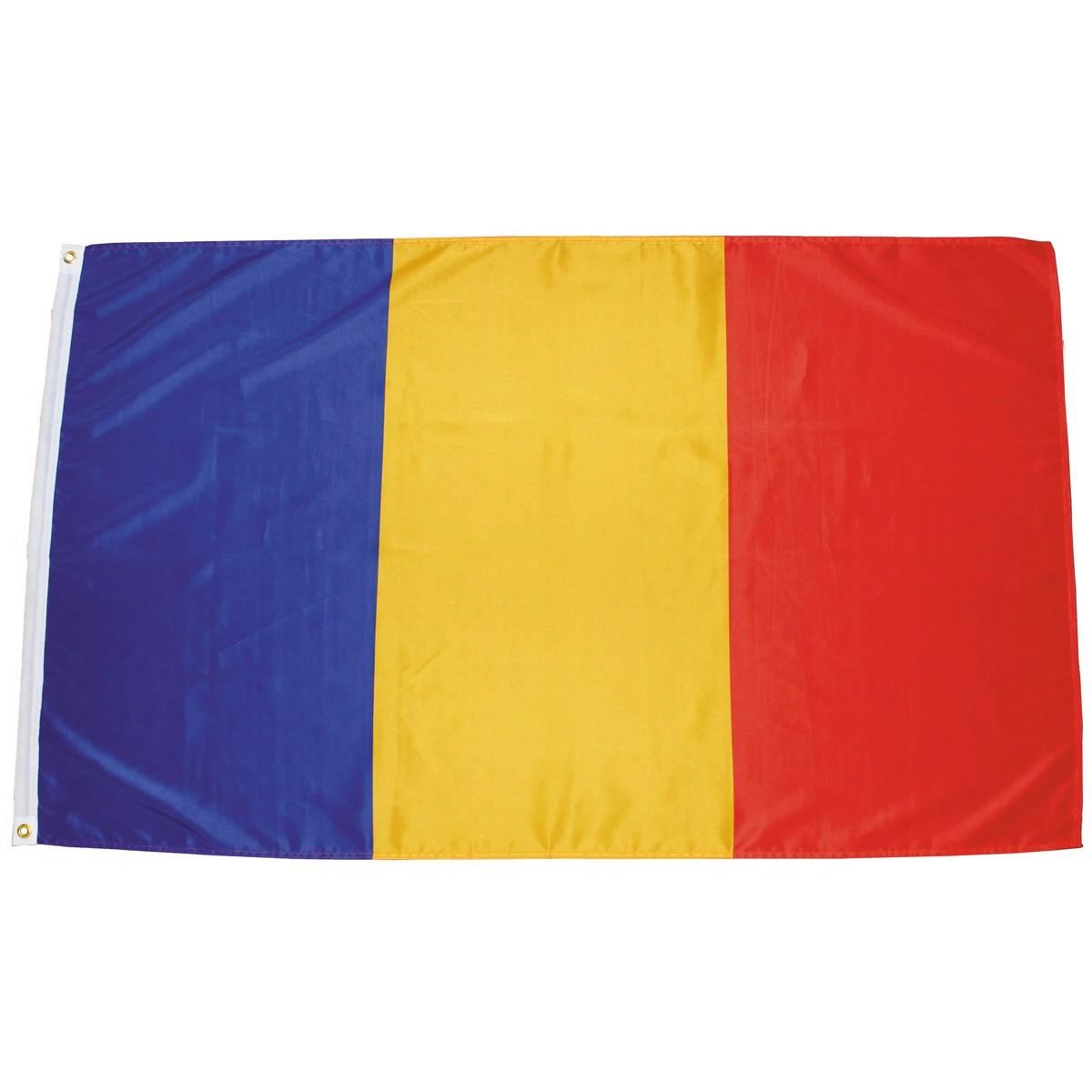 Rumunská vlajka  150x90cm obojstranná polyester megamix.sk
