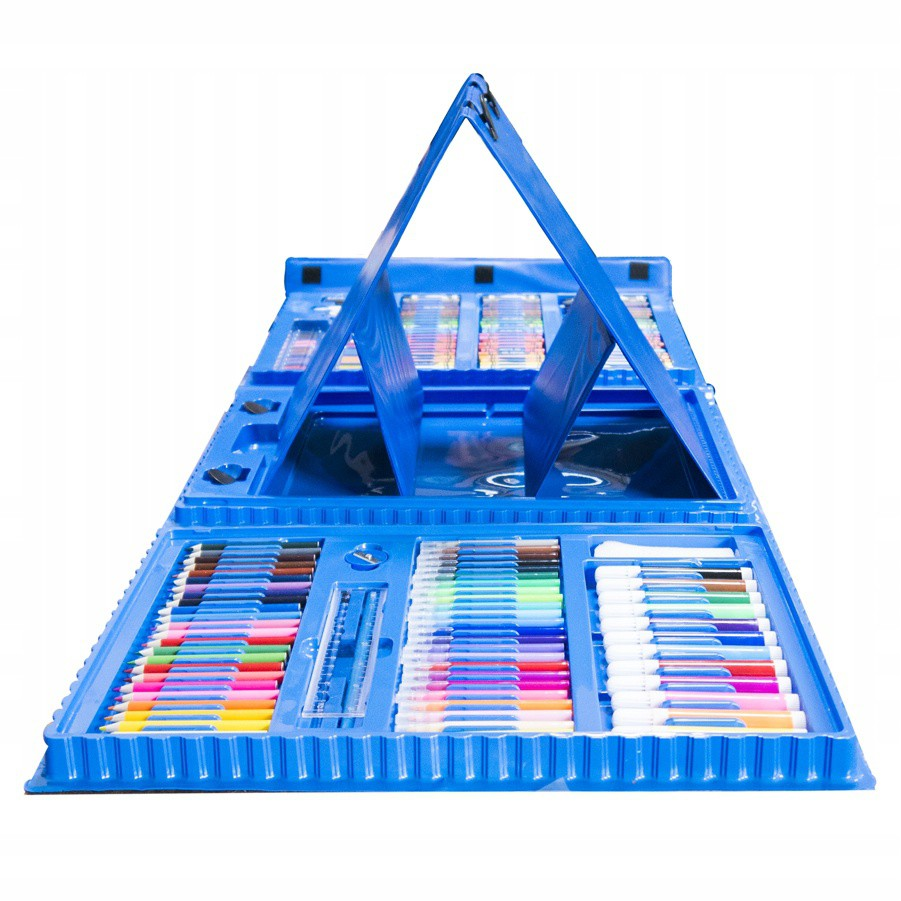 sada na kreslenie 186ks ceruzky pastelky megamix.sk