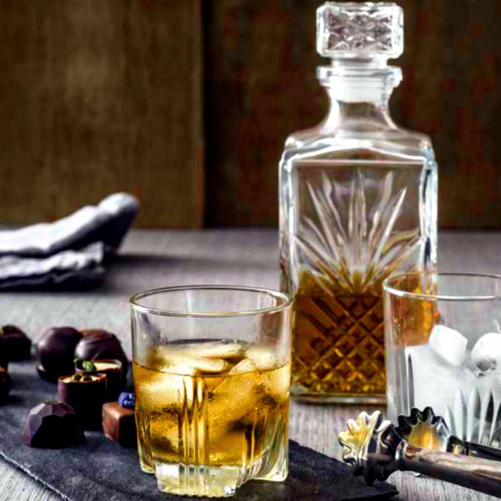 Sada whisky SELECTA karafa a 6ks poháre megamix.sk