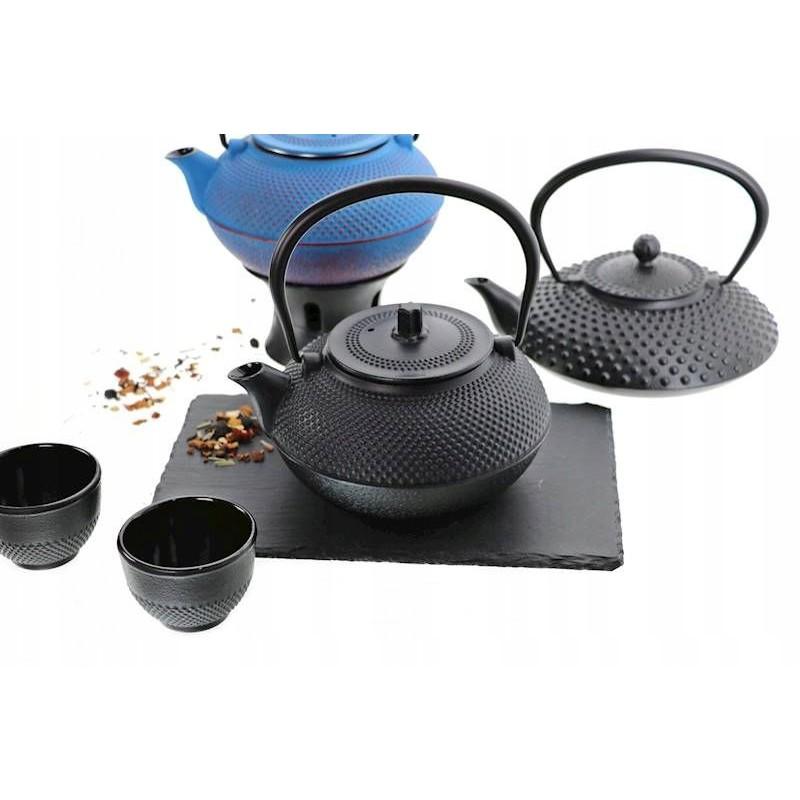 šálky na čaj liatinové japonské 6ks 100ml megamix.sk