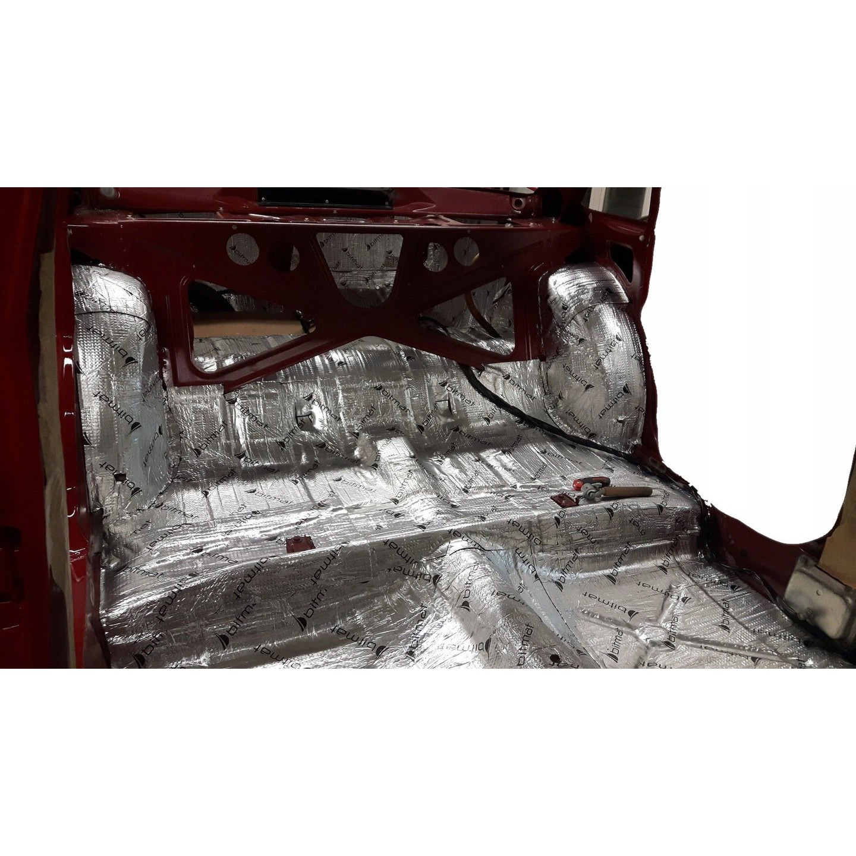 Samolepiaca butylová hliníková rohož 2mm 700x50cm AB-2 + valec ZADARMO megamix