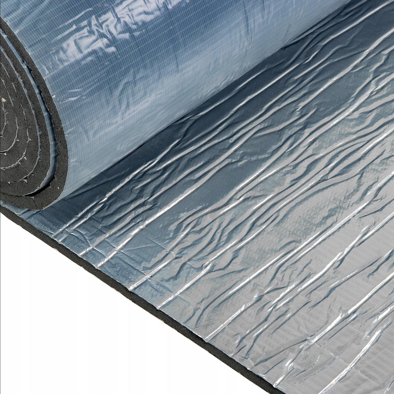Samolepiaca nepremokavá pena 9mm zvukotesná guma hliník K9s megamix