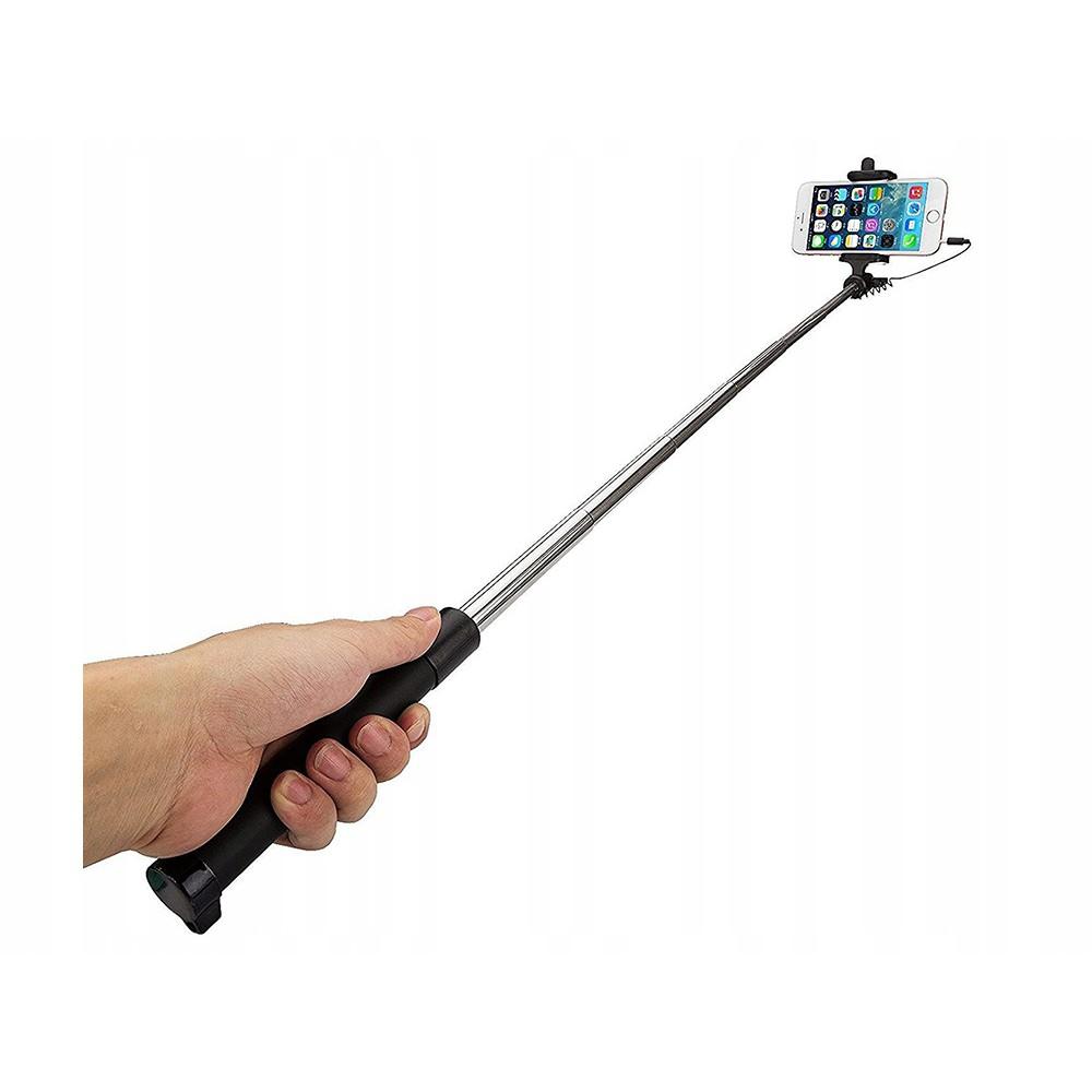 Seflie stick držiak na mobil 18-71cm čierny megamix.sk