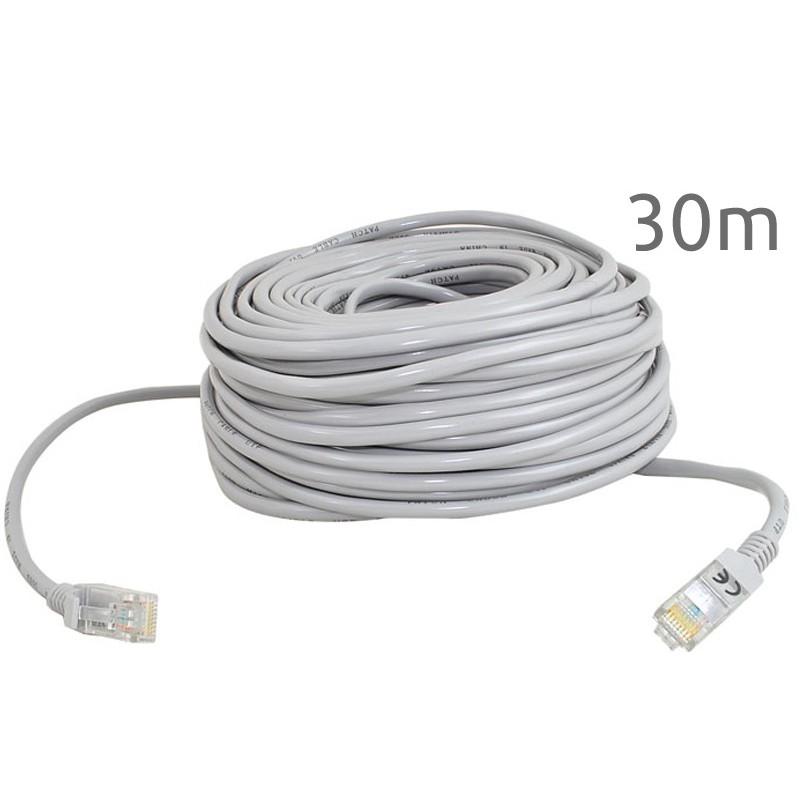 sieťový kábel 30m Ethernet Lan RJ45 megamix.sk
