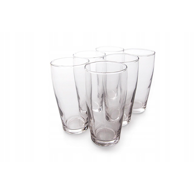 sklenené poháre 6ks 375ml 14cm megamix.sk