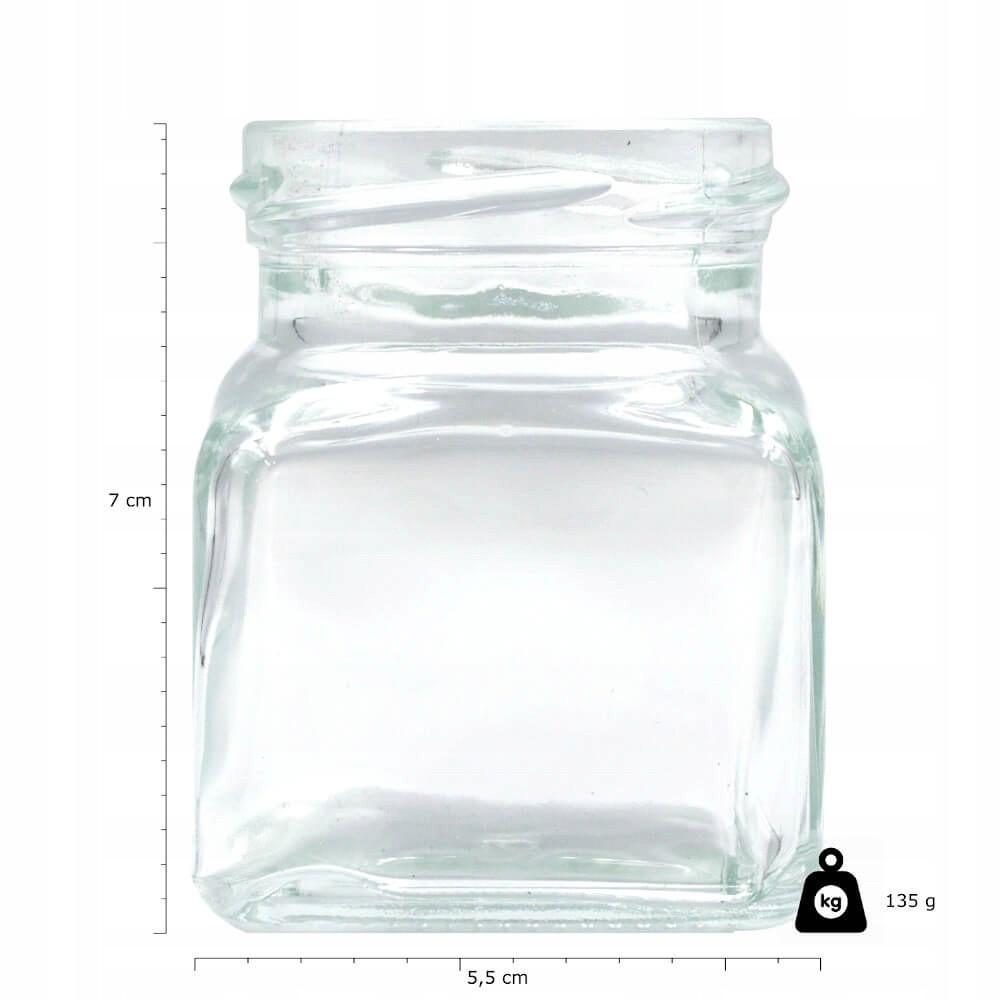 sklenené sklíčka na zaváranie 10ks 120ml 7cm s uzáverom megamix.sk